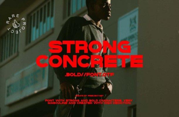 Strong Concrete Font