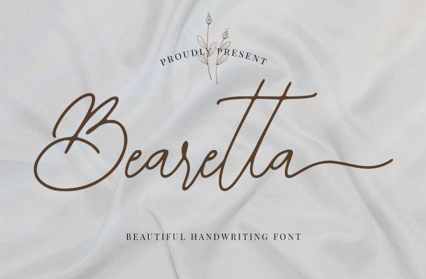 Bearetta Font