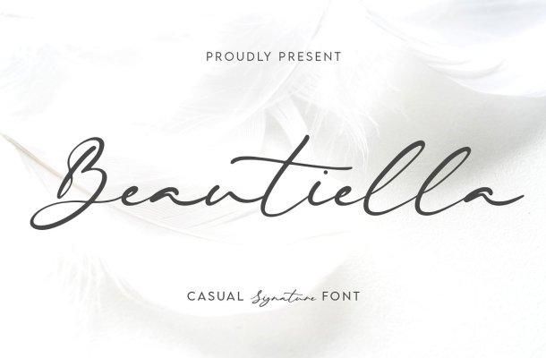 Beautiella Font