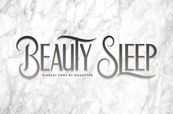 Beauty Sleep Font