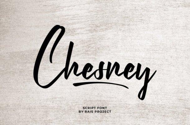 Chesney Font