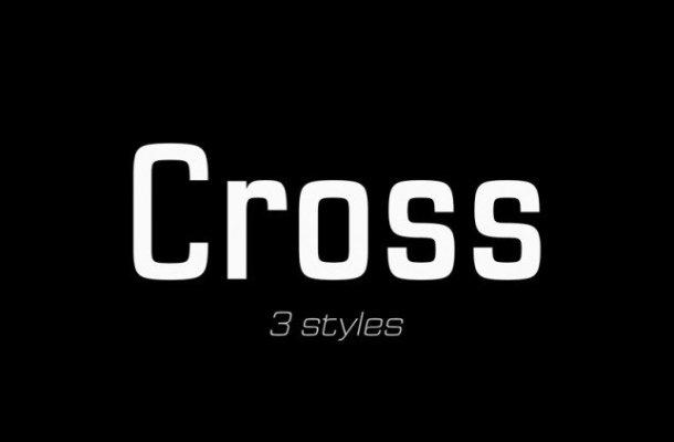Cross Font