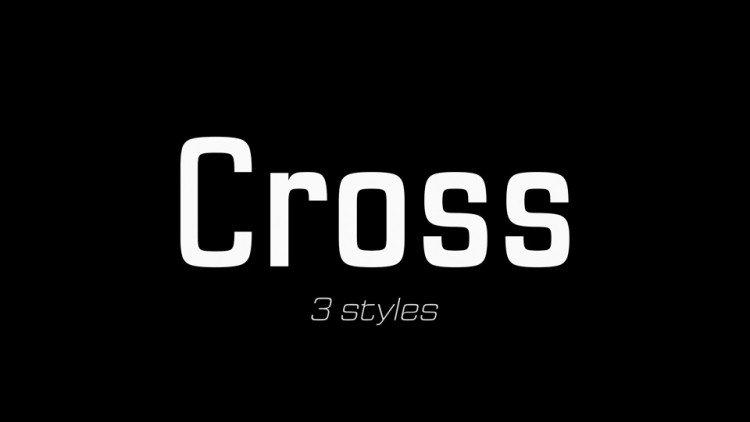 Cross-font