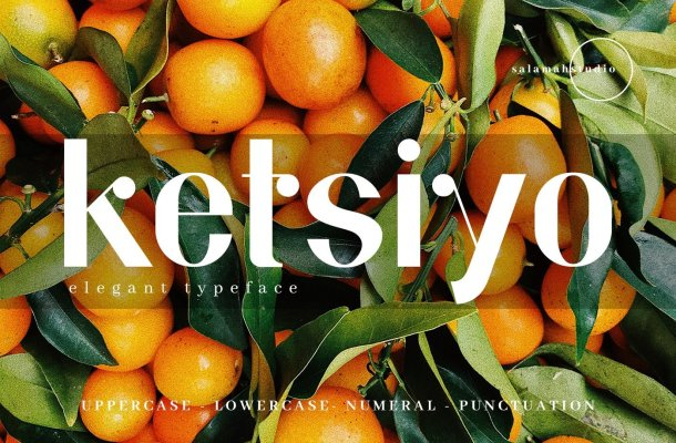 Ketsiyo Sans Font