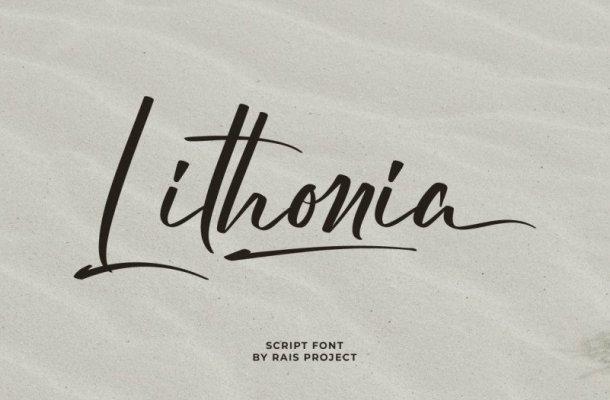Lithonia Font