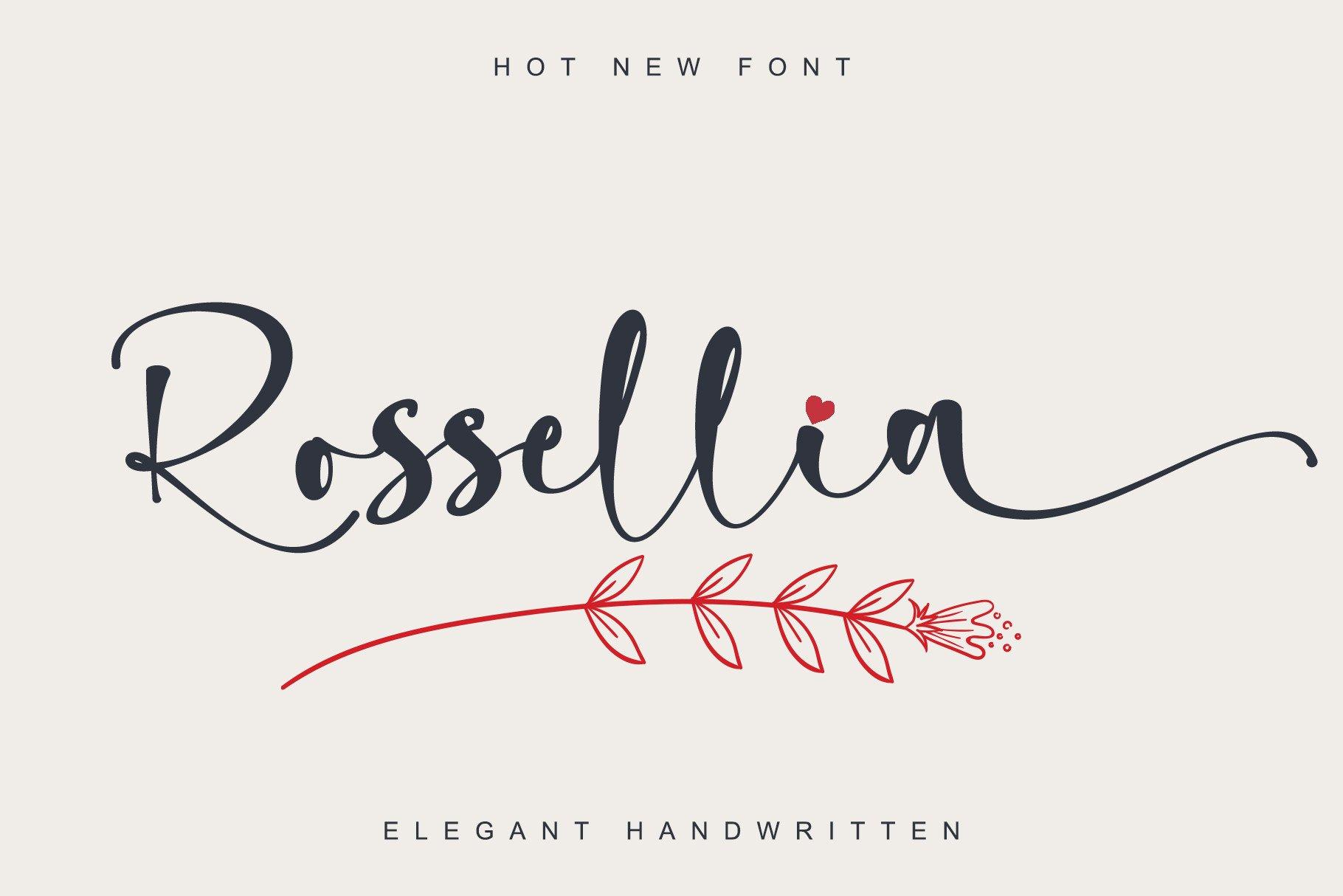 Rossellia-Font