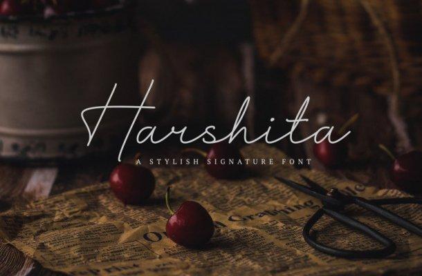 Harshita Font