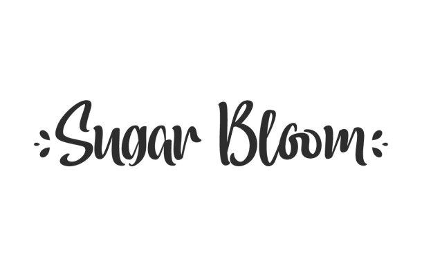 Sugar Bloom Font