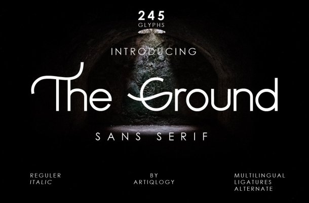 The Ground Font