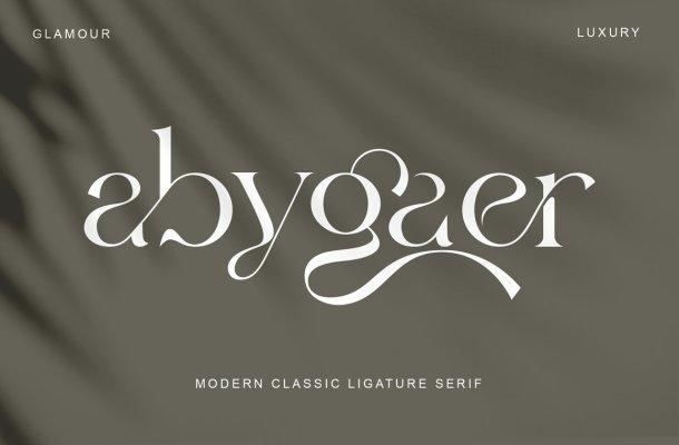 Abygaer Font