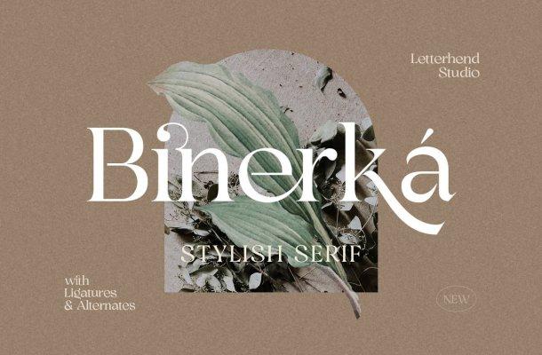 Bhinerka Font