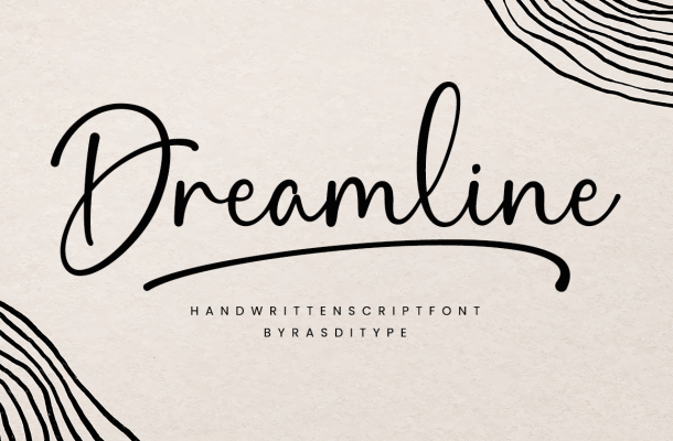 Dreamline Font