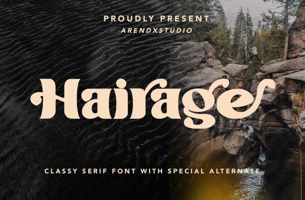 Hairage Font
