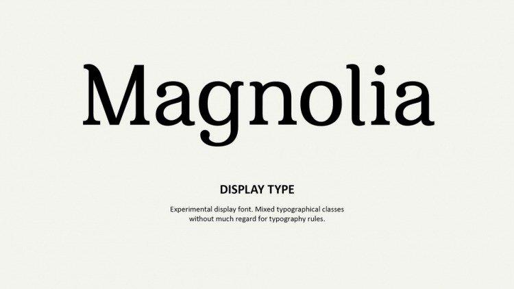 magnolia-font