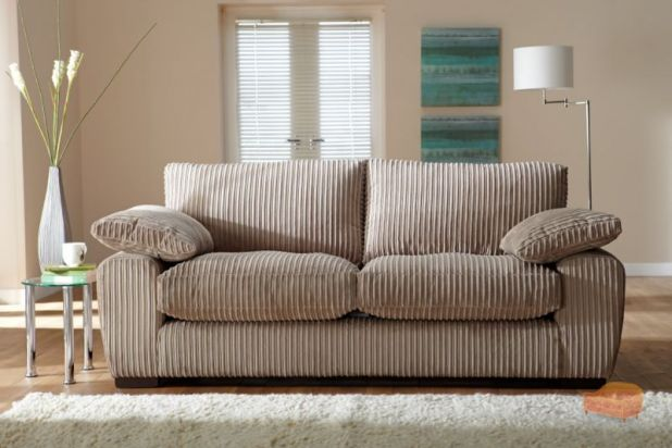 cord fabric sofa. Black Bedroom Furniture Sets. Home Design Ideas
