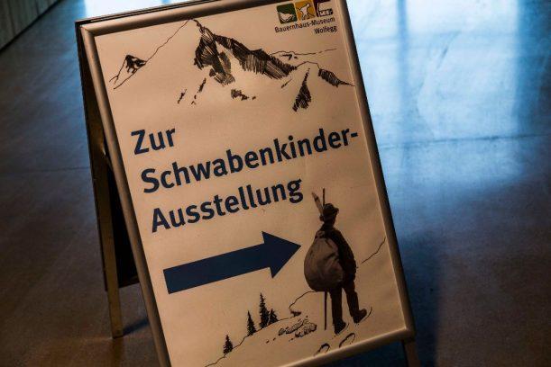 Schwabenkinder-Ausstellung im Bauernhofmuseum Wolfegg