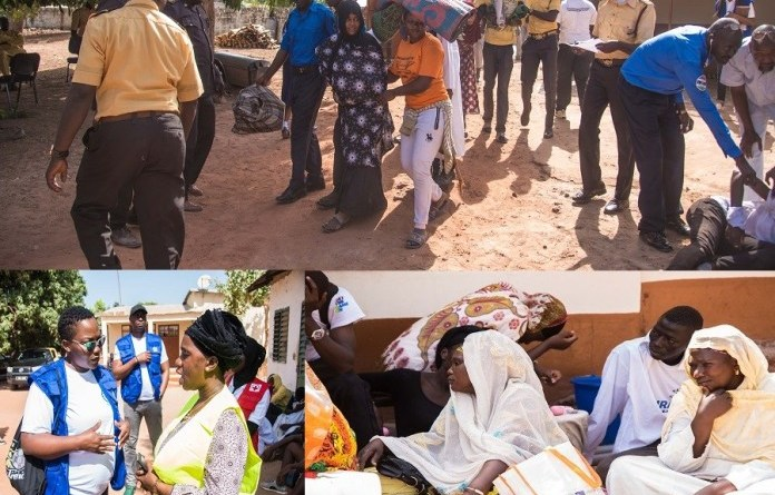 Gambia: First crisis simulation exercise takes place along Gambian-Senegalese border