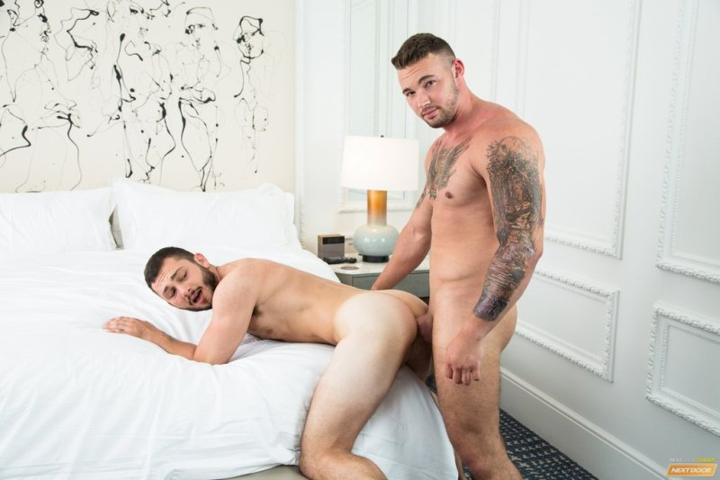 Muscle Stud Steve Rogers Pounds Johnny Riley 02