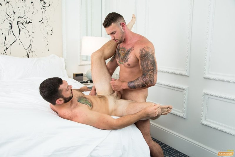 Muscle Stud Steve Rogers Pounds Johnny Riley 06