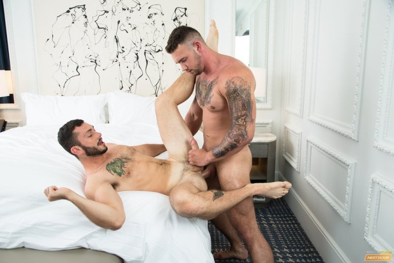 Muscle Stud Steve Rogers Pounds Johnny Riley 07
