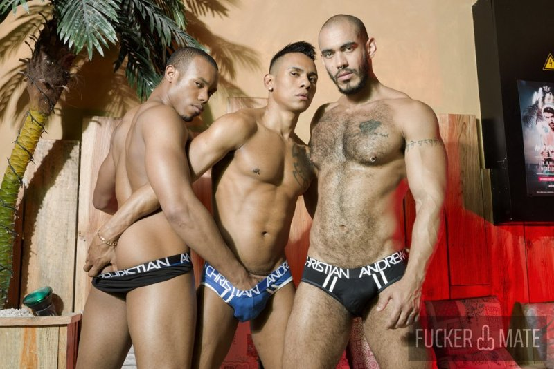 Raw Latino Threesome 01