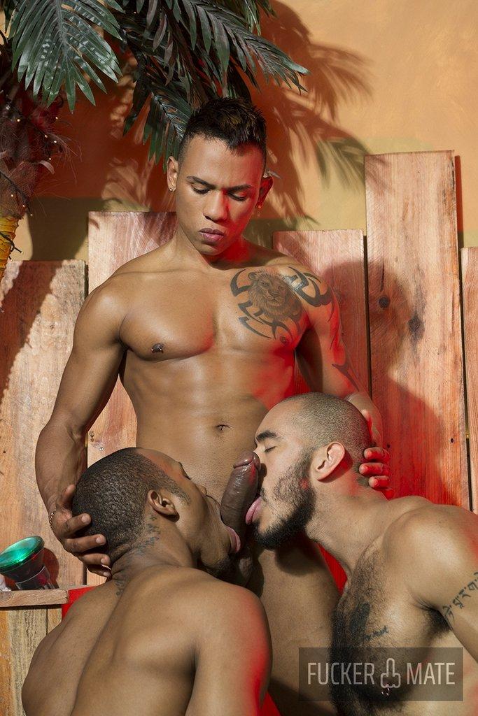 Raw Latino Threesome 04