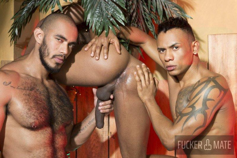 Raw Latino Threesome 06