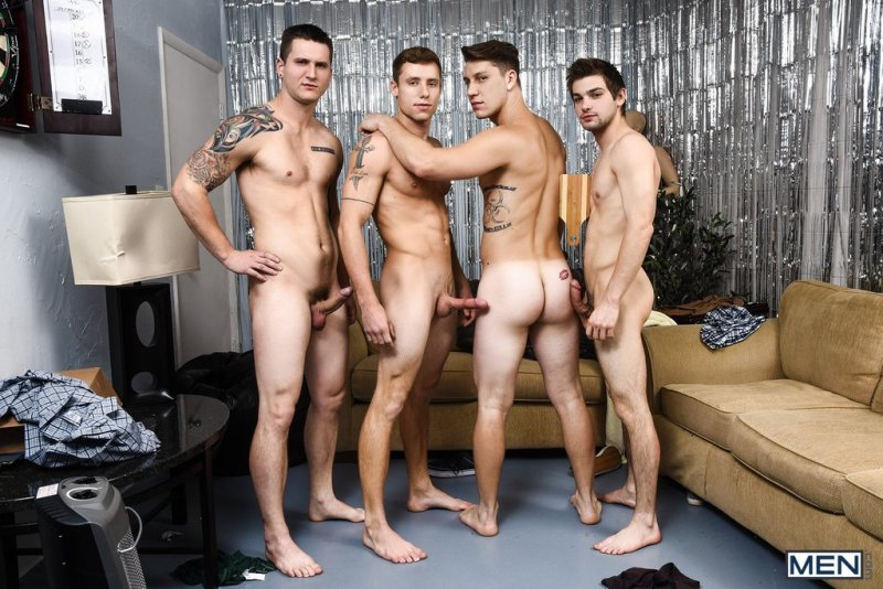Paul Canon In Naked Frat House 02