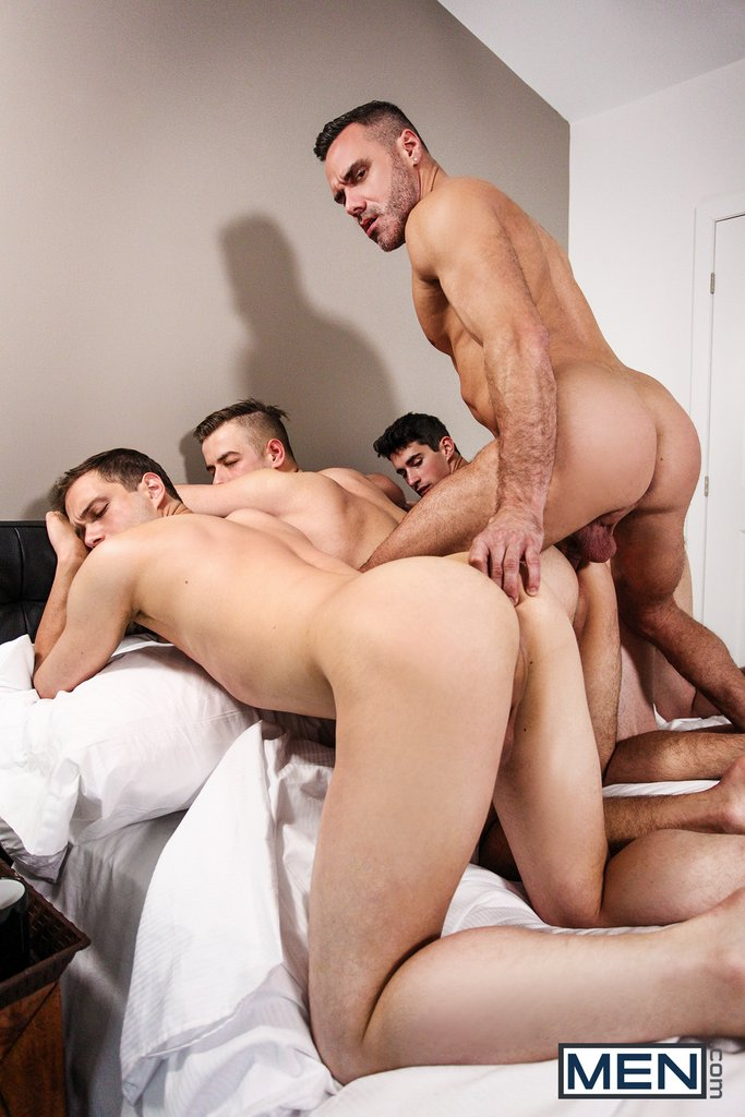 Sexy Daddy Manuel Skye Fucks Three Boys 02