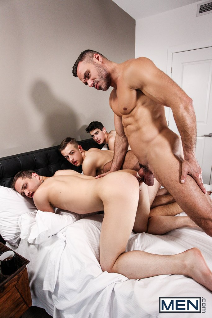 Sexy Daddy Manuel Skye Fucks Three Boys 04
