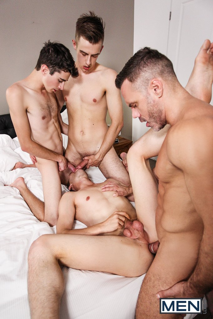 Sexy Daddy Manuel Skye Fucks Three Boys 10