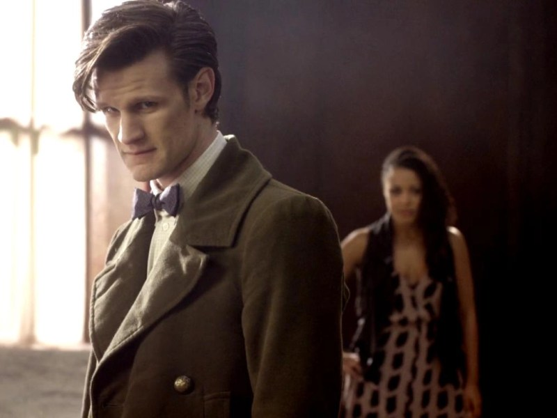 Matt Smith as Doctor Who in Let's Kill Hitler