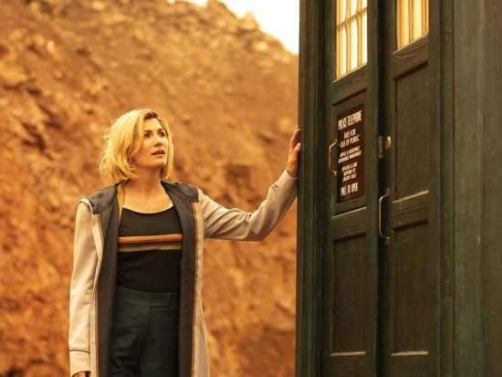 Jodie Whittaker as Doctor Who Thirteen