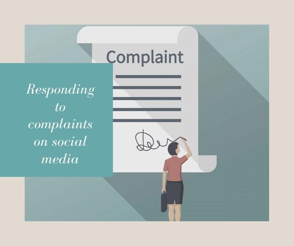 complaints on social media