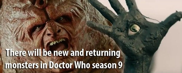 Doctor Who new monsters