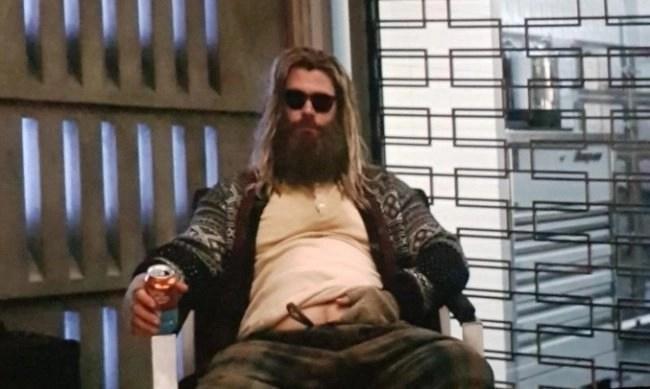 Fat Thor Avengers Endgame