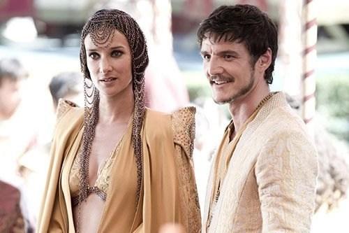 Ellaria Sand and Oberyn Martel