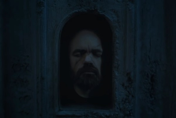Tyrion Lannister in the Hall of Faces