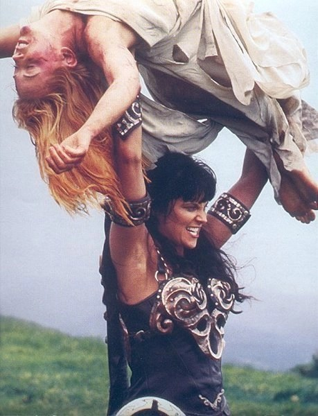 Xena and Gabrielle Bitter Suite