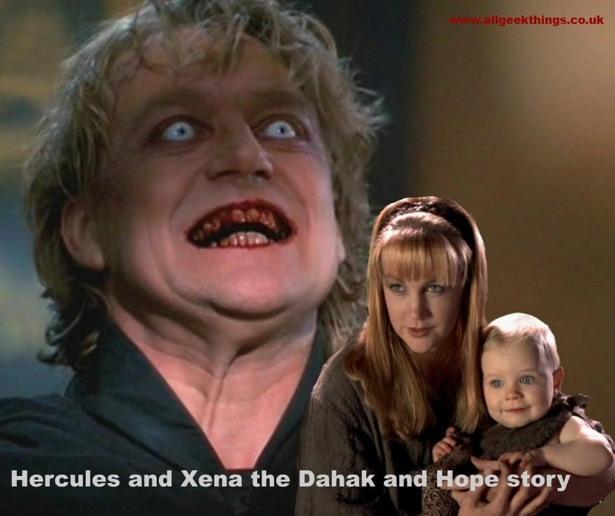 Hercules and Xena the Dahak and Hope story
