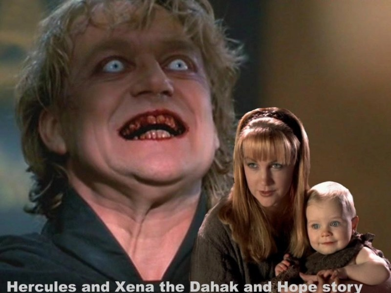 Hercules and Xena the Dahak and Hope story