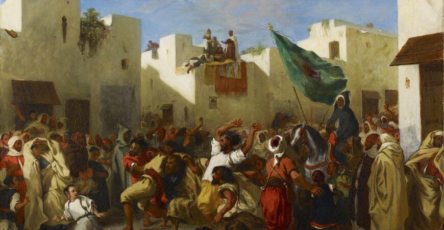 Delacroix, Les Fanatiques de Tanger