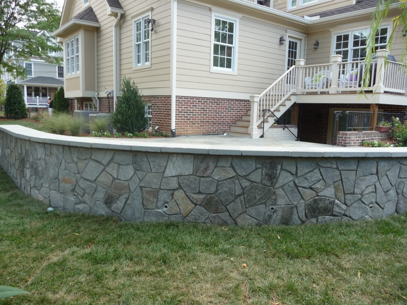 retaining wall contractor chantilly