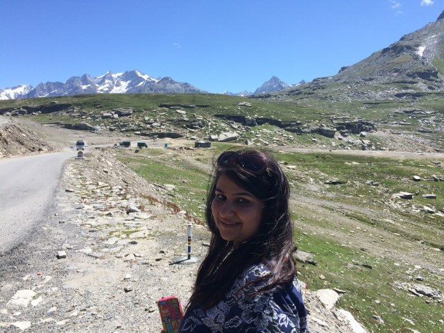 Journey started from rohtang pass for Spiti valley, Himachal Pradesh