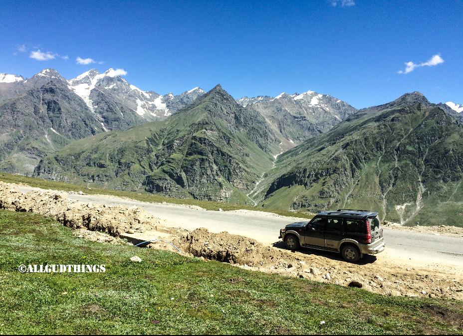 Heading to Spiti valley, Himachal Pradesh