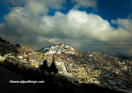 Beautiful Shimla after Snowfall – in Photos