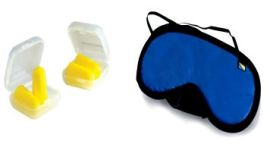 Ear Plugs & Eye Mask - Backpackers must carry essentials for a Hostel Stay