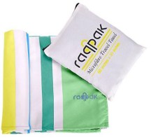 Microfiber Travel Towel - Backpackers must carry essentials for a Hostel Stay