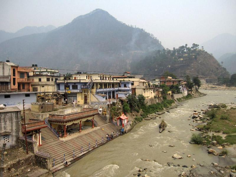 Ghats of Uttarkashi in Uttrakhand