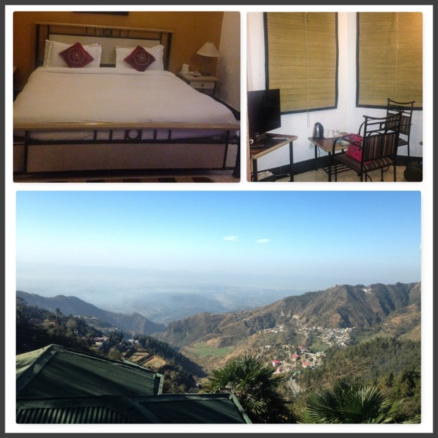 Cottage & views from Hotel Country Inn Mussoorie